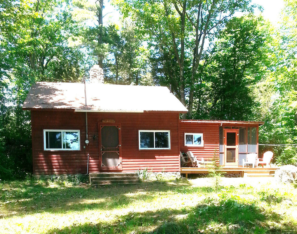 in an ontario canada retreat cabin inclusive set southriver cottage rentals all on camping